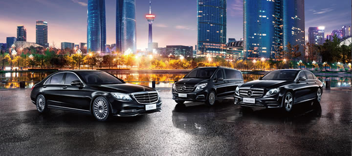 Mercedes-Benz Premium Ride-Hailing Service Thrives in China