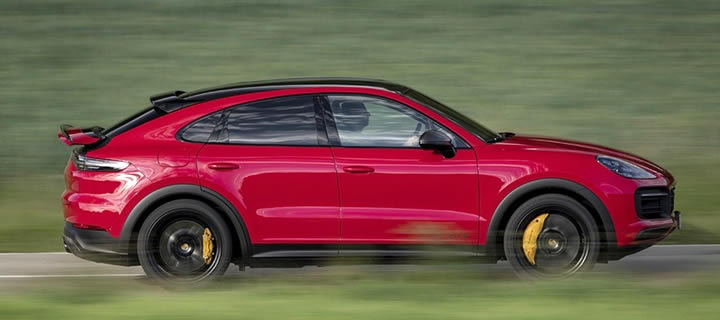 Porsche Showcases the Tuning of V8 Soundtrack from the New Cayenne GTS