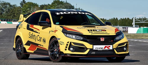 Honda Civic Type R is 2020 WTCR Official Safety Car