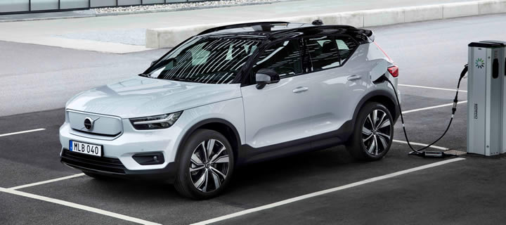 Volvo Starts Production of All-Electric XC40