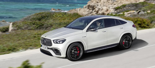 Mercedes-AMG Introduces Electrified New GLE Coupé