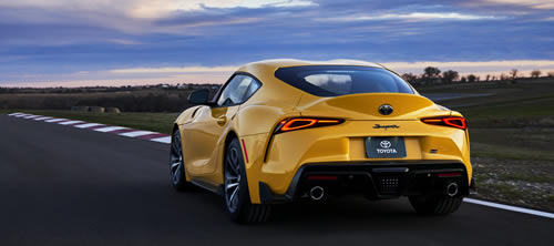 2021 Toyota Supra Adds More Power