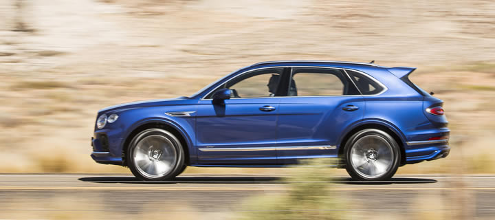 Bentley Announces Details of New Bentayga Speed