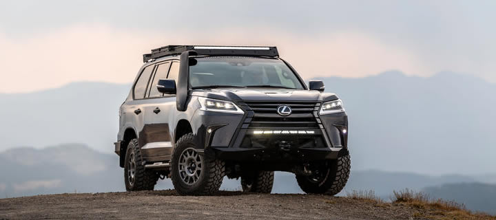 Lexus Adds Ruggedness to Already Immensely Capable Luxury SUV LX570