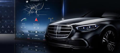 Mercedes-Benz Showcases Latest MBUX Onboard Infotainment System